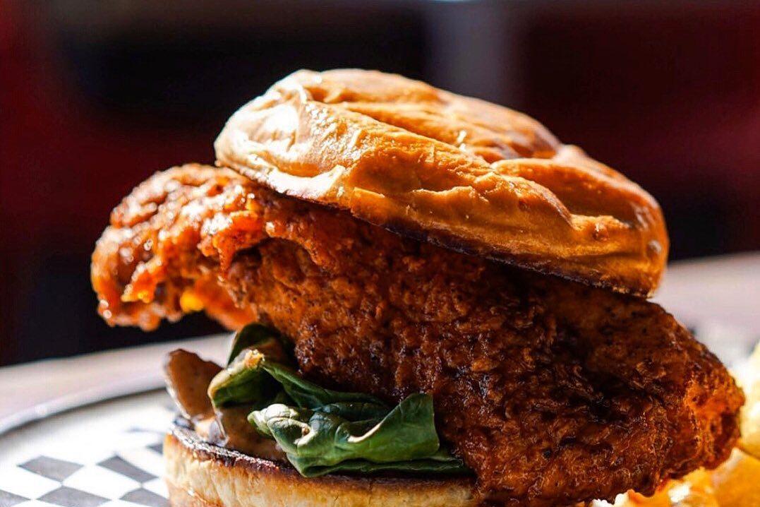 Lea Jane's Hot Chicken Sandwich