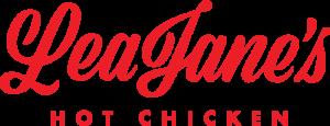 LeaJane's Hot Chicken Logo Text
